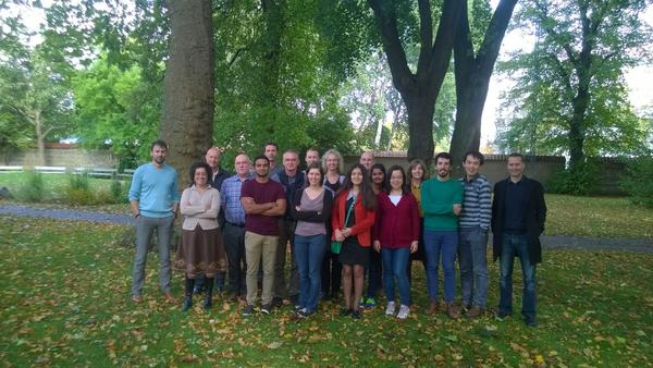 WallTraC Group Picture at Network Meeting 7
